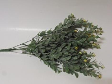 Mākslīgo ziedu pušķis ar ogām-6(40cm)