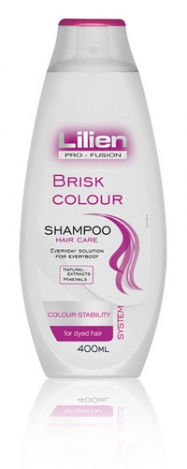 LILIEN Hair shampoo Brisk Colour 400ml
