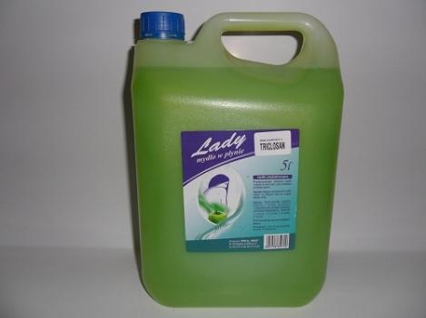 Liquid soap 5l LADY apple