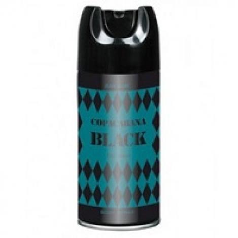 Copacabana BLACK deo for men 150 ml