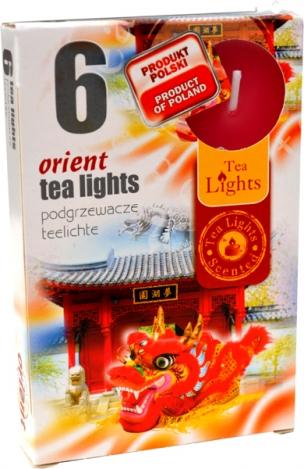 Smaržīgās tējas sveces (6gab.) – AUSTRUMI