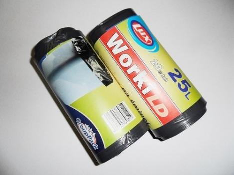 Мешки для мусора LDPE 25л (20шт.)