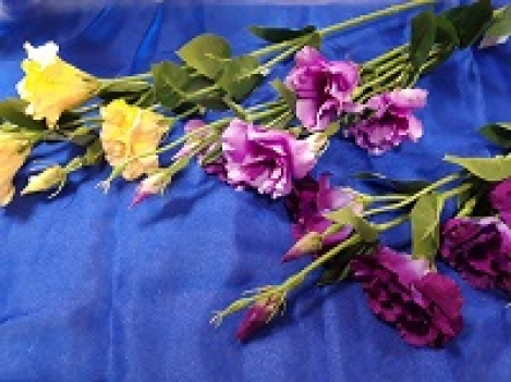 Zieds eustoma 82cm  A65SUN345