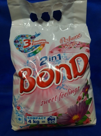BOND DETERGENT POWDER 2 IN 1 . 4kg Automat