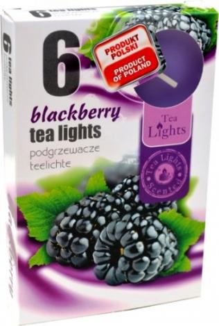 Smaržīgas tējas sveces (6 gab) - KAZENE