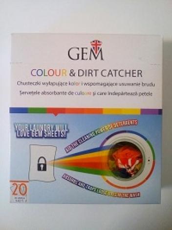 GEM sheets Colour& Dirt Catcher 20 pc