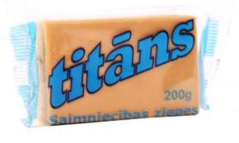 Хозяйственное мыло 72% TITANS 200gr