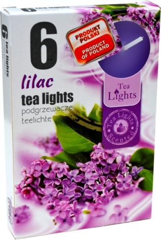 Ароматизированные чайные свечи (6шт.) - СИРЕНЬ