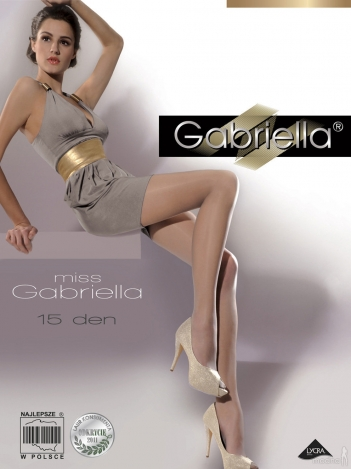 Gabriella колготки Miss 15den 5 размер 104
