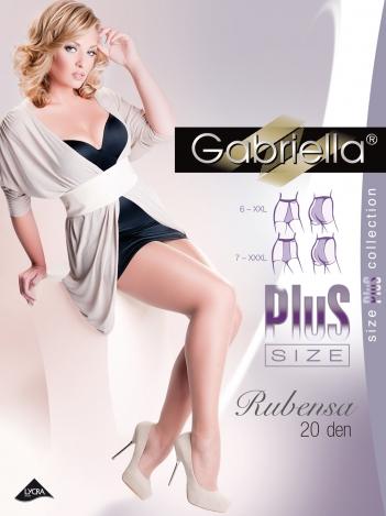 Gabriella колготки RUBENSA/Plus 20den 6,7 размер 161