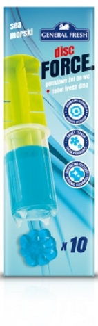 Toilet fresh disc -Disc Force 60ml