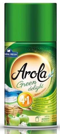 Refill for automatic air freshener Arola Green delight 250 ml