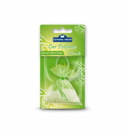 Car air freshener  pearls Green tea 20g