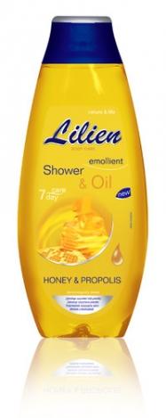 LILIEN Oil shower gel Honey and Propolis 400ml