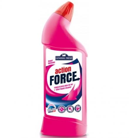 Action force tīrīšanas koncentrāts tualetēm 1l Ziedu