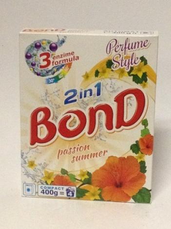 BOND Passion Summer стиральный порошок 2 в 1. 400g (Автомат/ручная)