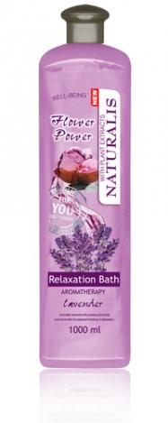 Пена для ванны с лавандовым маслом NATURALIS 1000ml