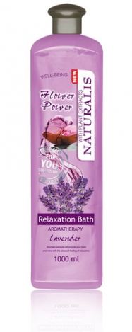 NATURALIS vannas putas ar lavandas eļļu 1000ml. Flower Power
