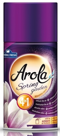 Refill for automatic air freshener Arola Spring garden 250 ml