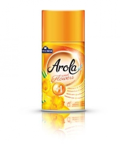 Refill for automatic air freshener Arola Sweet flowers 250 ml