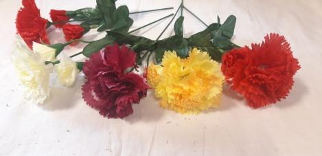 Artificial flower iris
