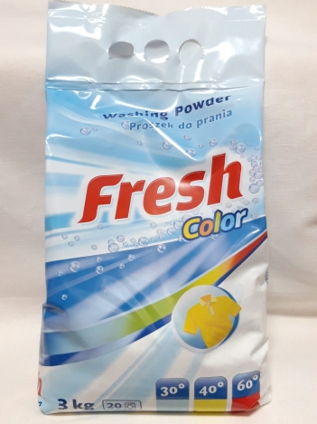 Washing powder Fresh color 3kg