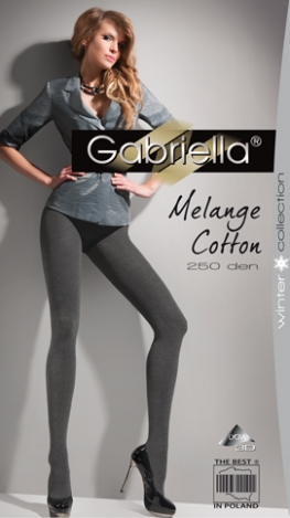 Gabriella колготки Cotton Melange 177 250den