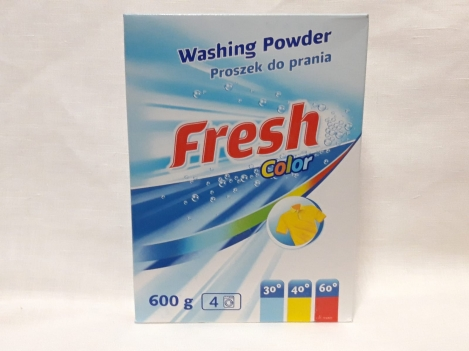 Washing powder Fresh color 600g
