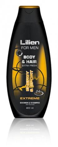 LILIEN Shower gel & shampoo for men Extreme 400ml
