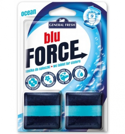 WC tablet for cistern Blu Force Sea 2*50g
