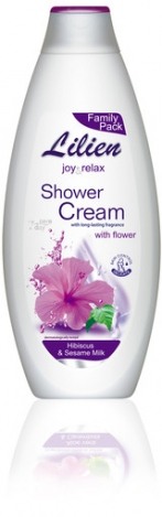LILIEN Shower cream Hibiscus & Sesame milk 750ml