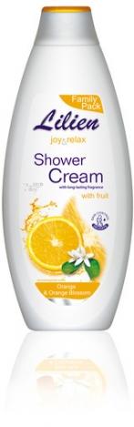 LILIEN Shower cream Orange & Orange Blossom 750ml