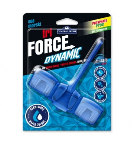 TRI-FORCE Dynamic anti-calc blister (45 gr) - Ocean