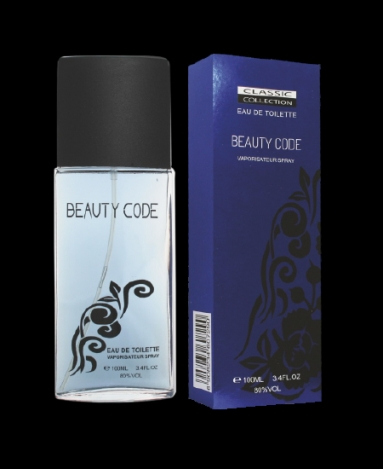 Toilet water for wonen Beaty Code 100ml