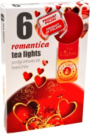 Ароматизированные чайные свечи (6шт.) - РОМАНТИКА