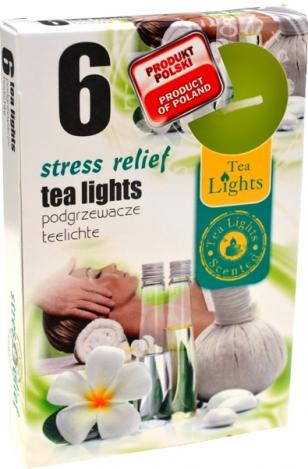 Smaržīgās tējas sveces (6gab.) – STRESA NOŅEMŠANA