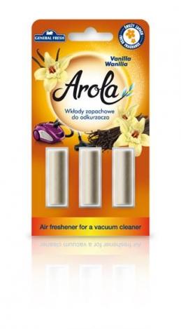 Air freshener for a vacuum cleaner Arola. Vanilla