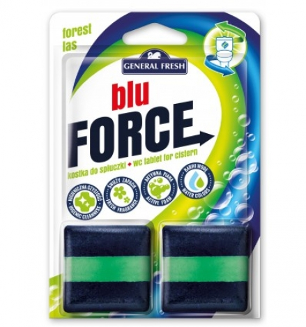 WC tablet for cistern Blu Force pine 2*50g