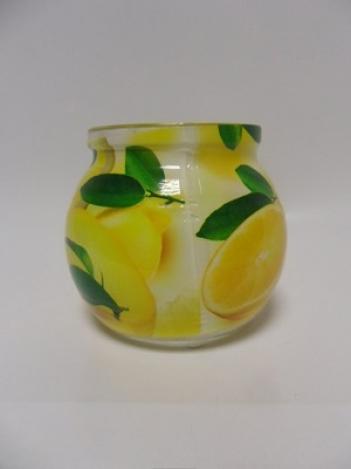 Aromatiskā svece stiklā 85 g Orange