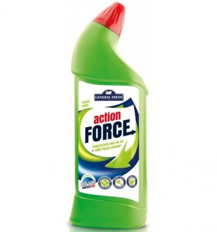 Action force tīrīšanas koncentrāts tualetēm 1l Meža