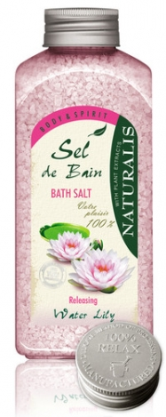 Vannas sāls NATURALIS Water Lilly 1000g.