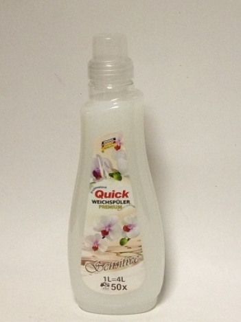 Quick Sensitive Fabric Softener concentrate 1l