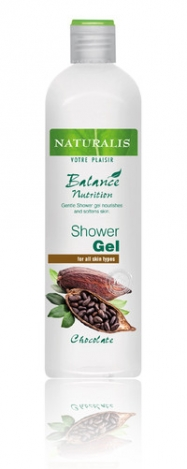 NATURALIS Shower gel with chocolate extract 400ml