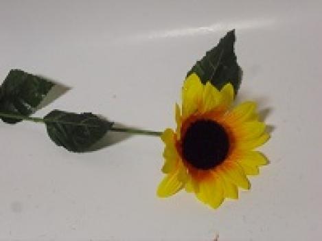 Искусственный цветок подсолнуха 60 см