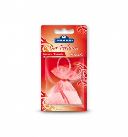 Car air freshener pearls Strawberry 20g