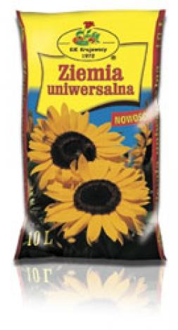 Universal potting soil 10l.Substrāta reģistrācija apliecība Nr. K0.01-1515-17