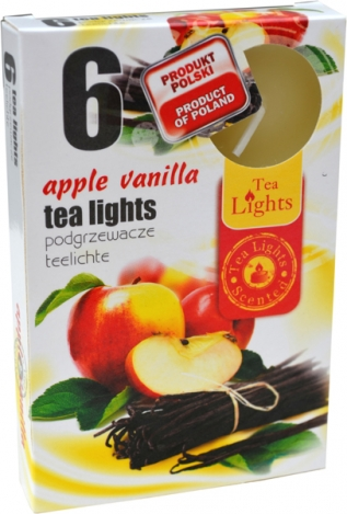 Tea lights (6psc.) - APPLE VANILLA