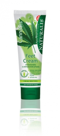 Feet cream Cannabis. 125ml