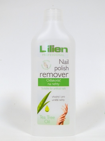 Nail polish remover 200 ml. Tea Tree