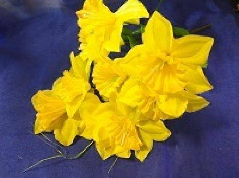 Artificial flower of narcissus-9